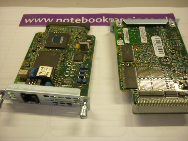 Cisco single port adsl interface card