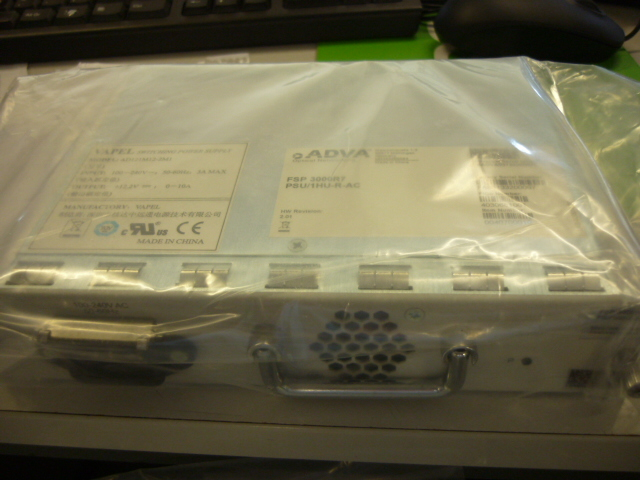 ADVA Network Power Supply PSU/1HU-R-AC