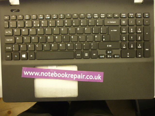 New Acer ASPIRE V3-731 palmrest with keyboard UK
