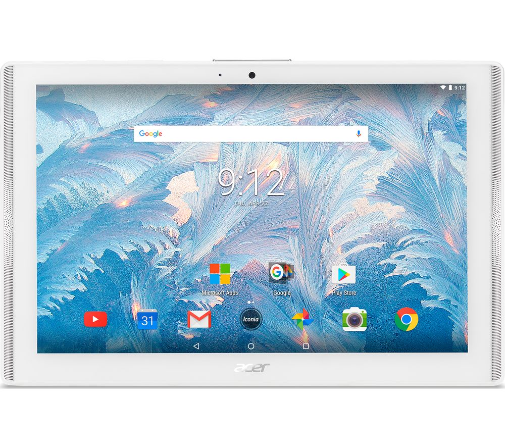 Acer Iconia One, 10 inch, 2GB, 16Gb, Tablet, White (refurbished)