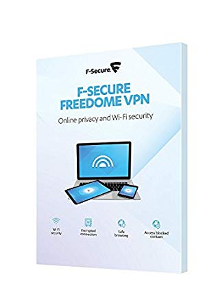 F Secure Freedome VPN 3 Devices 1 Year