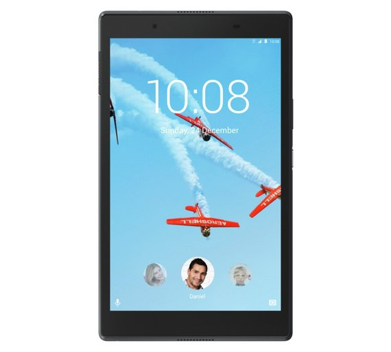 Lenovo Tab 4 HD 8 inch, 16GB, Tablet, Black (refurbished)