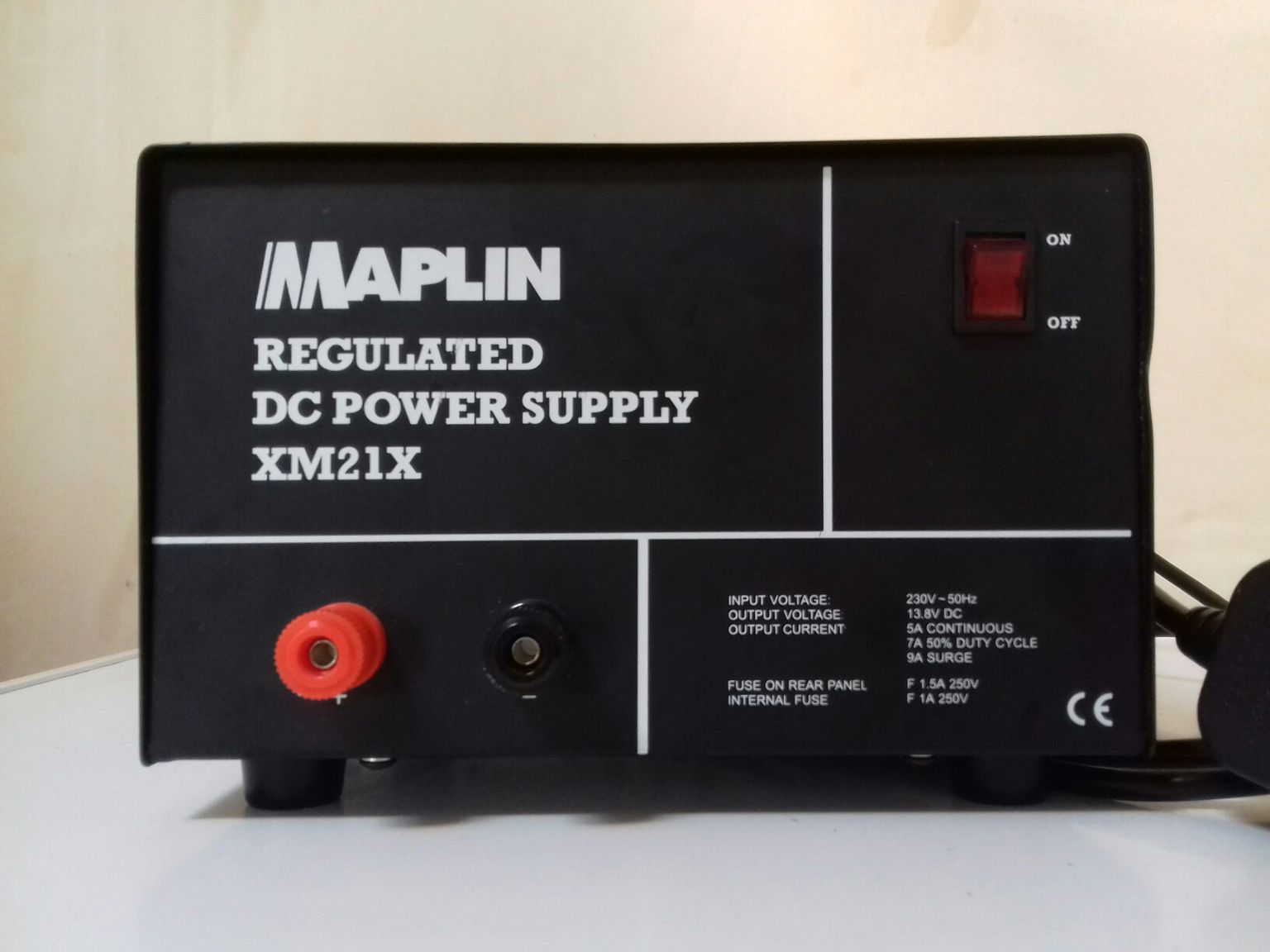 Maplin XM21X DC Power Supply (refurbished)