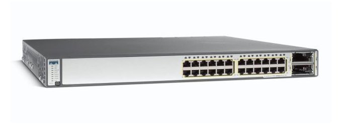 Cisco Catalyst 3750E-24TD-S Switch - Refurbished