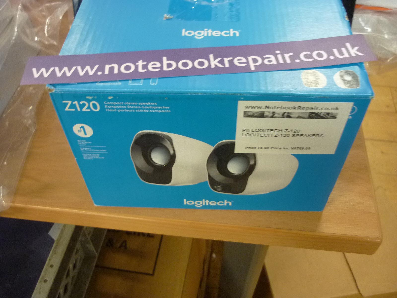 Logitech Z120 Used Speakers